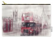 City-art London Westminster Collage II Carry-all Pouch by Melanie Viola