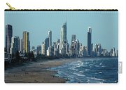 City At The Waterfront, Surfers Carry-all Pouch