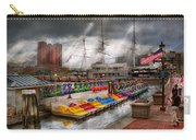 City - Baltimore Md - Modern Maryland Carry-all Pouch by Mike Savad