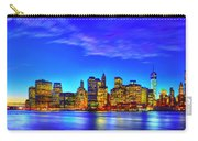 City Blue Carry-all Pouch
