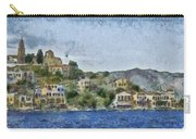 City By The Sea Carry-all Pouch by Ayse Deniz