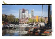 City Centre Of Rotterdam In Netherlands Carry-all Pouch
