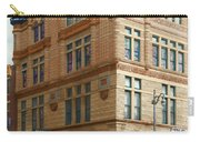 City - Chattanooga Tn - 1943 - The Masonic Temple Carry-all Pouch by Mike Savad