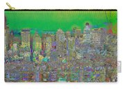 City Garden In Green Carry-all Pouch