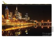 City Glow Carry-all Pouch by Andrew Paranavitana