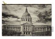 City Hall Antiqued Print Carry-all Pouch