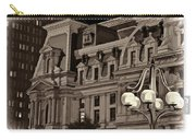 City Hall At Night Closeup Carry-all Pouch