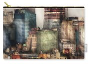 City - Hoboken Nj - New York Skyscrapers Carry-all Pouch