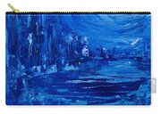 City In Blue Carry-all Pouch