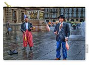 City Jugglers Carry-all Pouch by Ron Shoshani