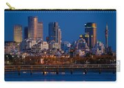 city lights and blue hour at Tel Aviv Carry-all Pouch
