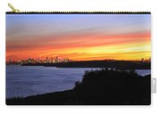 City Lights In The Sunset Carry-all Pouch