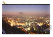 City Lit Up At Night, Esslingen Carry-all Pouch