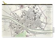 City Map Or Plan Of Florence Or Firenze Carry-all Pouch