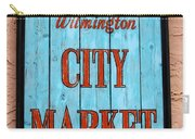 City Market Sign Carry-all Pouch