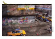 City - New York - Greenwich Village - Life's Color Carry-all Pouch