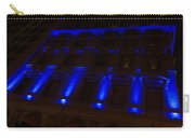 City Night Walks - Blue Highlights Facade Carry-all Pouch