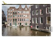 City Of Amsterdam Canal Houses Carry-all Pouch