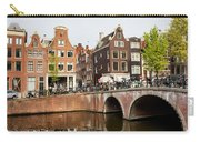 City Of Amsterdam In Holland Carry-all Pouch