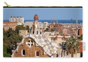 City Of Barcelona From Park Guell Carry-all Pouch
