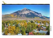 City Of Crested Butte Colorado Panorama   Carry-all Pouch