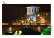 City Of Dublin At Night In Ireland Carry-all Pouch