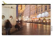 City Of Krakow By Night In Poland Carry-all Pouch