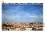 City Of Lisbon At Sunset Carry-all Pouch