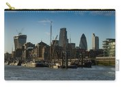 City Of London River Barges Wapping Carry-all Pouch
