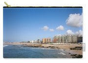 City Of Matosinhos Skyline In Portugal Carry-all Pouch
