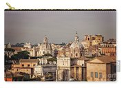 City Of Rome At Dusk Carry-all Pouch
