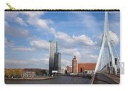 City Of Rotterdam From Erasmus Bridge Carry-all Pouch