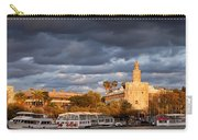 City Of Seville At Sunset Carry-all Pouch