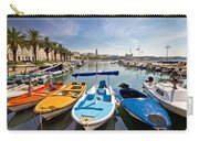 City Of Split Colorful Harbor View Carry-all Pouch