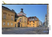 City Of Zagreb Historic Upper Town Carry-all Pouch