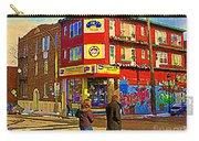City Paint Benjamin Moore Rue Rachel And Hotel And De Ville Montreals Oldest Paint Store  C Spandau  Carry-all Pouch