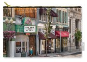 City - Roanoke Va - Down One Fine Street  Carry-all Pouch by Mike Savad