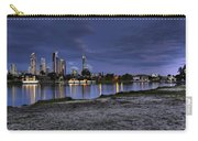 City Skyline At Night Carry-all Pouch