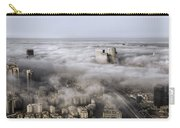 City Skyscrapers Above The Clouds Carry-all Pouch