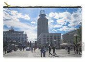 City Square In Stockholm Carry-all Pouch