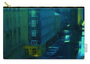 City Streets Digital Painting Carry-all Pouch