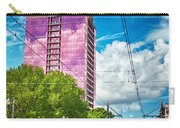 City Streets Of Charlotte North Carolina Carry-all Pouch