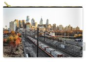 City Up The Tracks Carry-all Pouch
