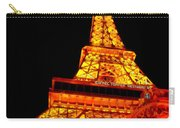 City - Vegas - Paris - Eiffel Tower Restaurant Carry-all Pouch