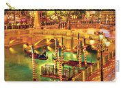 City - Vegas - Venetian - The Venetian At Night Carry-all Pouch