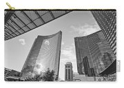 Citycenter - View Of The Vdara Hotel And Spa Located In Citycenter In Las Vegas  Carry-all Pouch by Jamie Pham