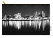 Cityscape In Black And White - Philadelphia Carry-all Pouch