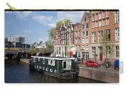 Cityscape Of Amsterdam Carry-all Pouch