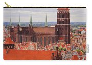 Cityscape Of Gdansk Carry-all Pouch