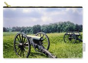 Civil War Cannons Carry-all Pouch